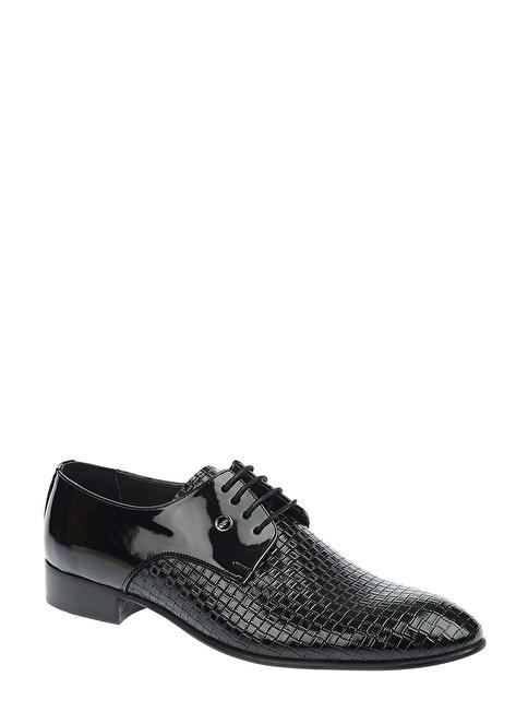 Derigo %100 Deri Bağcıklı Klasik Ayakkabı Beyaz